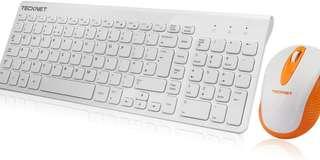 Tecknet Wireless KeyBoard & Mouse