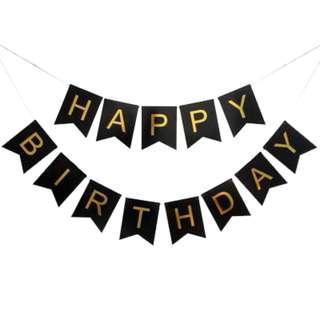 Birthday Bunting/Banner