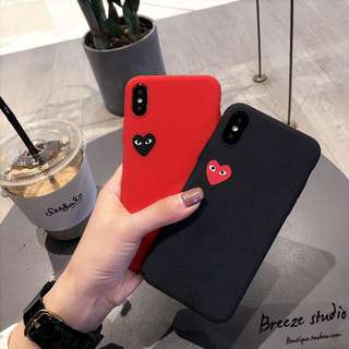 CDG Heart iPhone Case