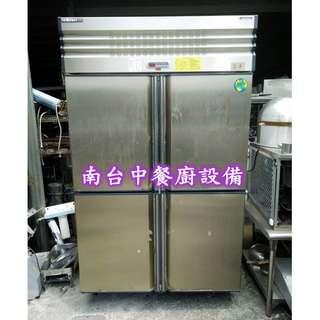 【南台中餐廚設備】*中古*厚騰四門冰箱(全凍)