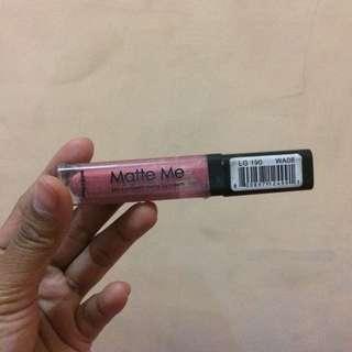 Matte me lipstik