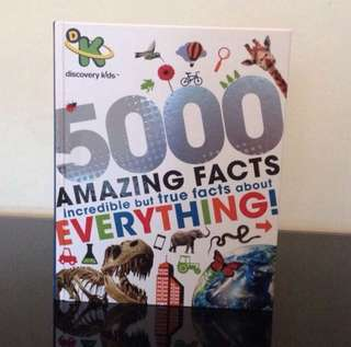 BN Discovery Kids 5000 Amazing Facts: Incredible But True Facts about Everything!