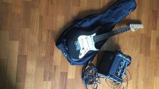 Kids Guitar with Bag and Amp