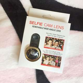 🆕 Selfie cam wide lens with universal clip