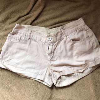 Forever 21 off white shorts