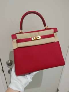 Hermes kelly 25 C stamp
