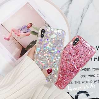 Sparkling iPhone case