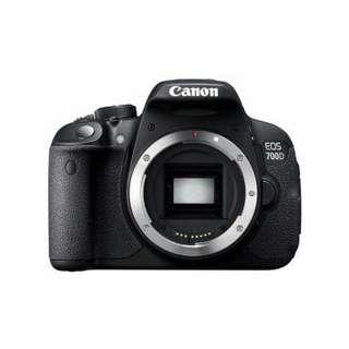 Kredit Kamera Canon EOS 700D, Garansi Resmi gratis 1x cicilan