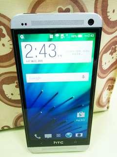 🚚 HTC One 801e 銀色16GB/備用機 M7遊戲機 零件機
