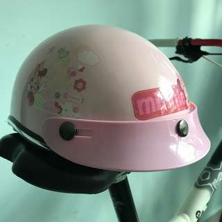 Brand New Minnie Mouse Bicycle Helmet for Little Girls