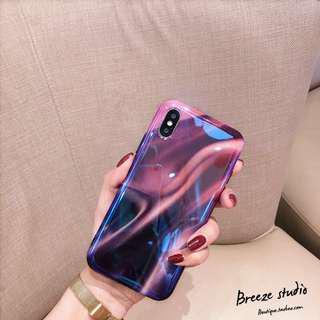 Electron purple iPhone case