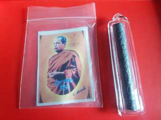 Thai Amulet(Butterfly Takrut)