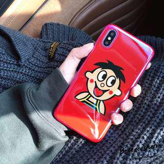 Cutie boy iPhone Case