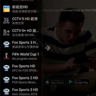 IPTV (World Cup exclusive channels!) >300 channels