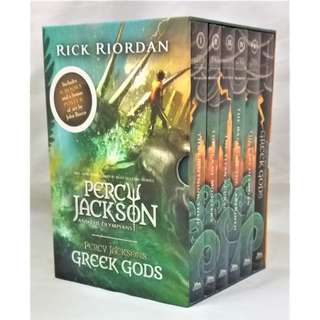 🚚 Percy Jackson And The Olympians: The Complete Series Box Set