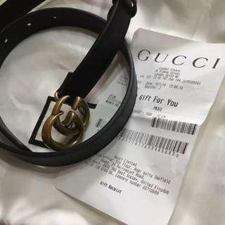 Gucci 皮帶