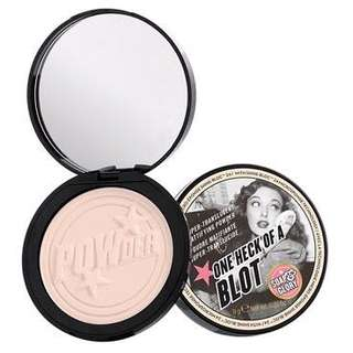 Soap & Glory's One Heck of a Blot Matte Powder