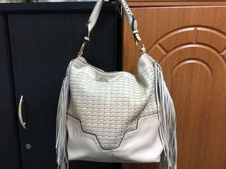 Leather HoBo Beige Bag from Amsterdam (Holland)