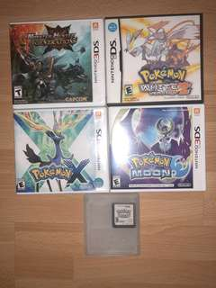 3DS Games Pokémon & Monster Hunter