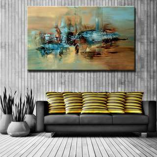 🚚 Abstract Art Oil Painting 60cm x 90cm