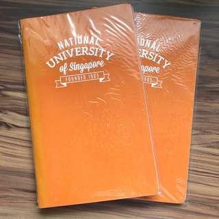 Bundle of 2 NUS Orange Notebooks