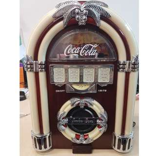 Original Coca-Cola Juke Box Radio