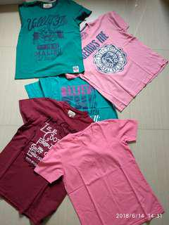 Buy 5 Casual Splash and Leecooper Shirts for cheap price