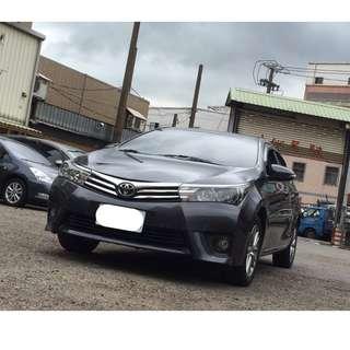 14年 豐田 ALTIS 灰色 漂亮車 前車主因為老婆懷孕 才願意割捨 喜歡的快來看車喔 ~~~~