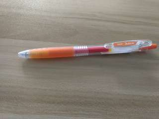 Brand new Pilot Juice orange pen