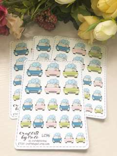 LC96-110 Planner Stickers