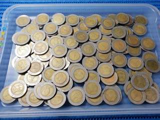 Thailand 10 Ten Baht Coin ( 128 pieces are available )