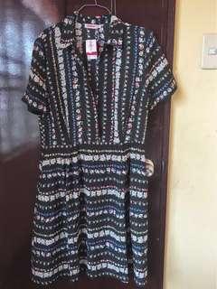 Original Cath Kidston Black Floral Dress