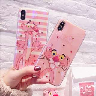 Pink Panther iPhone Case