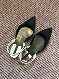 ZARA sling back shoes