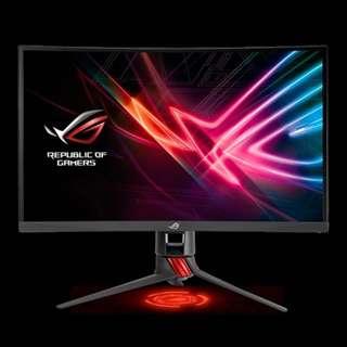 🚚 ROG STRIX XG27VQ 27 Inch Gaming Monitor 3 Years On-site Warranty