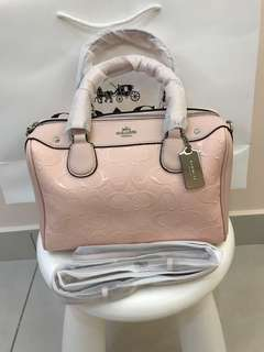 Coach Mini Bennett Satchel Ready Stock Original Coach