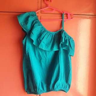 blue-green top