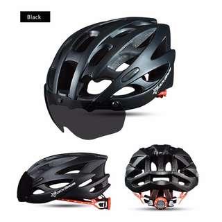 Rockbros Cycling Helmet 27 (Black)