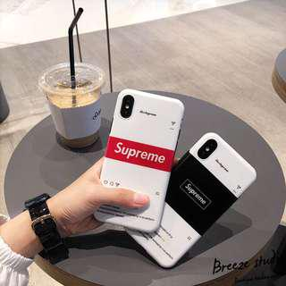 Supreme instagram iPhone Case