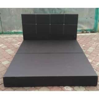 Katil Queen Divan Bed Frame * L30 H