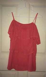 Pink Strappy Mini Dress