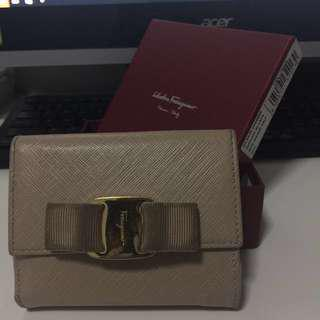 Salvatore Ferragamo short Flap Wallet