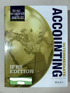 INTERMEDIATE ACCOUNTING by Kieso, Weygandt & Warfield (2nd IFRS Edition)