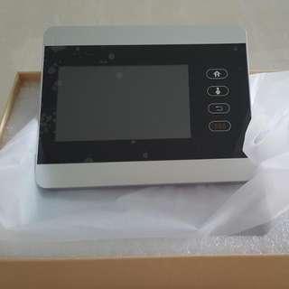 Ihome5 Wireless Wifi Peephole Digital Door Viewer Doorbell Auto Video Recording