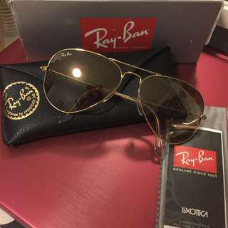 Authentic Ray Ban Aviator Sunglass