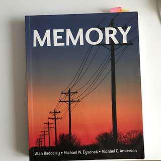 Memory by Alan Baddeley, Michael W. Eysenck & Michael C. Anderson
