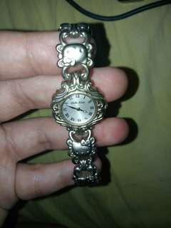 Rare and hard to find Limited Edition Sanrio Hello Kitty Stainless Steel Watch from Japan Water Resistant