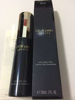 Cle de peau radiant fluid foundation. B10, O10