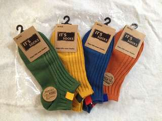 Iconic Men Foot Wear Ankle Length Plain Tag Socks