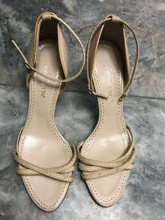 Jill Stuart strappy high heels (Original) snake skin